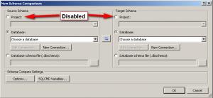 Database Schema Compare